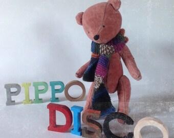 Pink bear ,Artist bears,Ooak