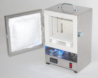 RapidFire Pro Programmable Electric Digital Kiln..perfect for PMC Metal Clay & Jewelry Making