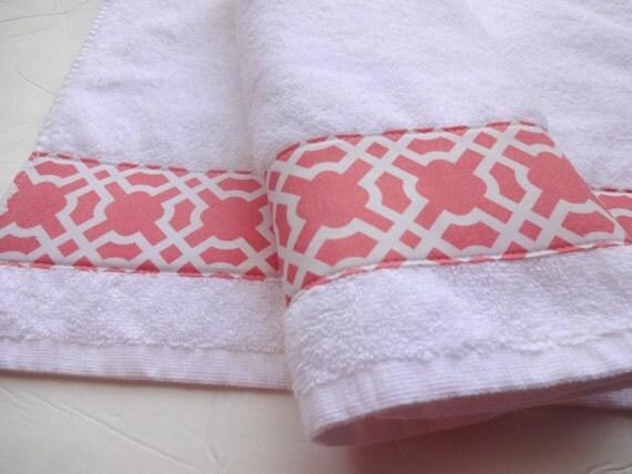 serviettes de bain vous choisissez taille corail corail. Black Bedroom Furniture Sets. Home Design Ideas