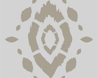 Acacia Ikat Accent Stencil