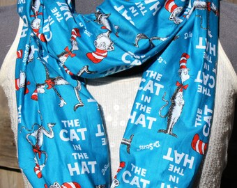 Dr.Seuss The Cat in the Hat Infinity Scarf