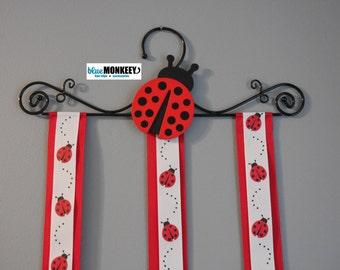 Red Ladybug Hanger Hair Clip Holder - RTS
