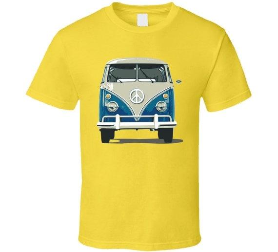 new volkswagen bus vanagon 1960 vw van camper by tshirtroyalty. Black Bedroom Furniture Sets. Home Design Ideas