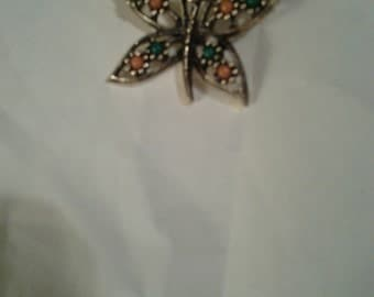Sarah Coventry vintage Butterfly Brooch.