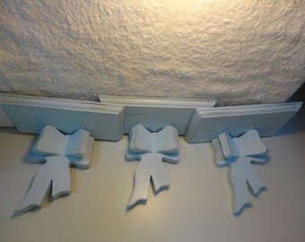 Shabby Chic Wall Sconce - set of 3