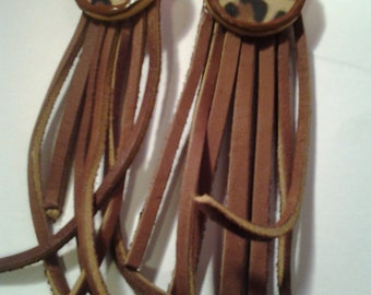 Safari Fringed Earrings