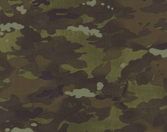 OOAK #545 - 18x 44 - Because of the Brave Army Green Camoflage 32954 12