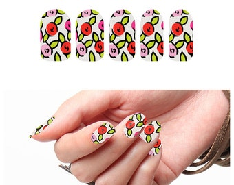 Rosy Cheeked - Nail Wraps (Set of 22)