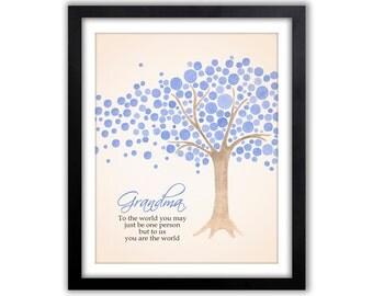 Christmas Gift - Gifts For Grandparents -  Gift Grandparents - Personalized Grandparent Print - Gifts From Grandchildren - Grandparent Gift