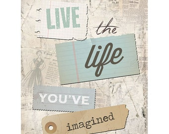 MA1061 - Live the life you've imagined