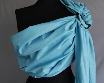 Baby Sling Ring ,Baby Carrier, Sling,Baby Wrap, Baby Sling,Blue,Gift