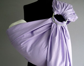 Purple Baby Sling, Ring sling ,Baby Carrier, Sling,Baby Wrap, Baby Sling,Purple,Gift
