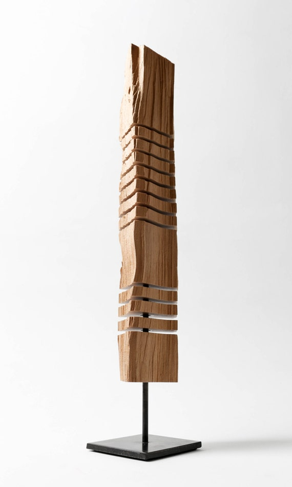 Reclaimed wood totem sculpture for Reclaimed wood dc
