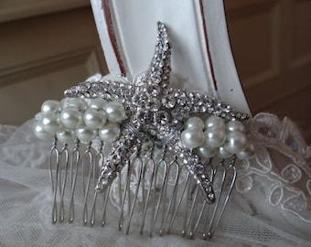 Starfish Hair Comb