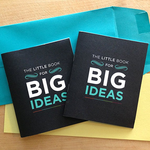 The little book for big ideas - Motivational notebooks that will inspire you // The PumpUp Blog
