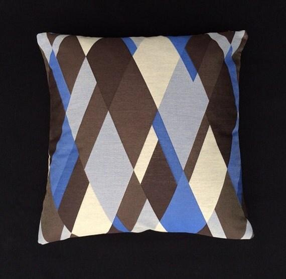 Maia Modern Pillows : Mid Century Modern geometric decor Pillow 17 x