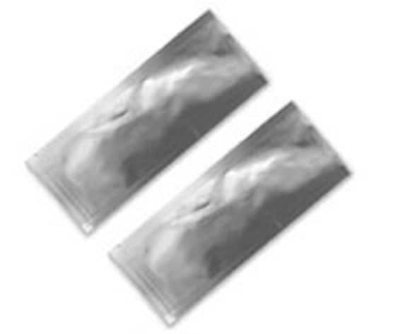 Silver Heat Seal Sample Packets (50pk)