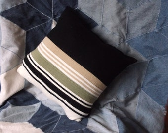 Recycled Sweater Pillow.