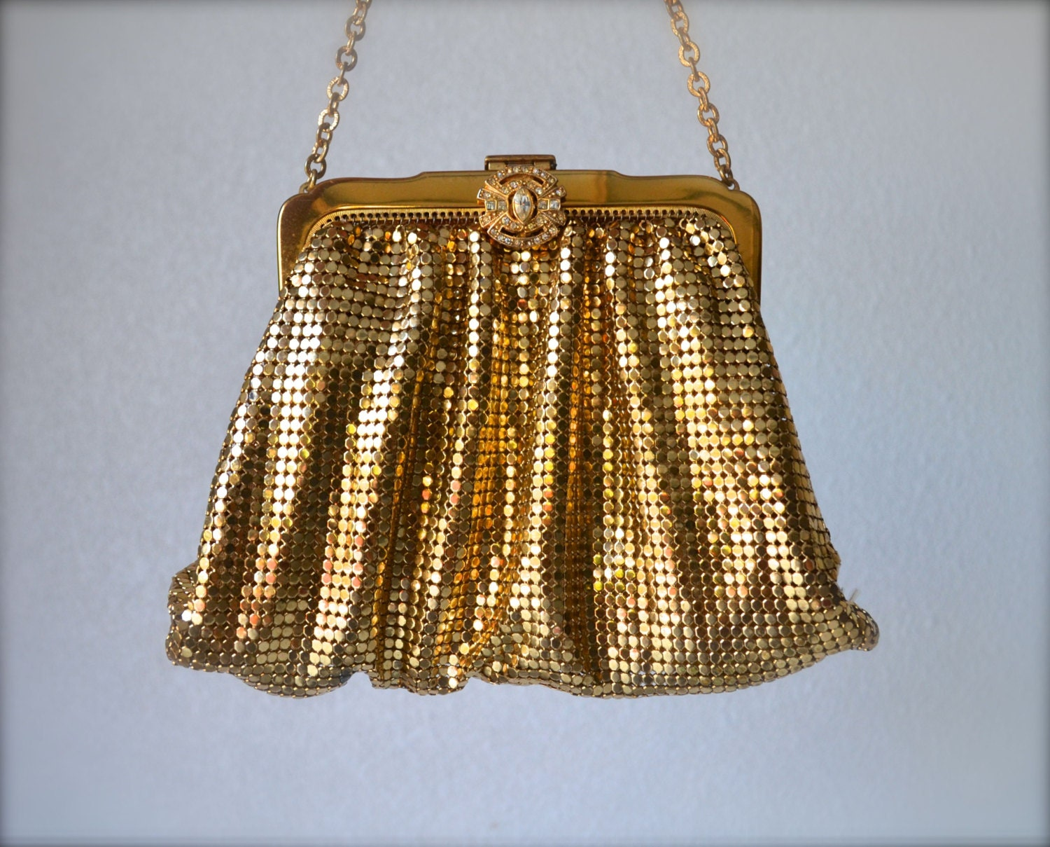 Vintage Whiting And Davis Mesh Purse 82