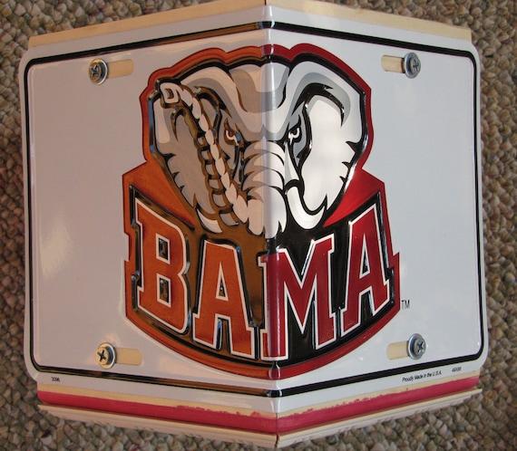 Alabama Crimson Tide Bird House License Plate Collegiate