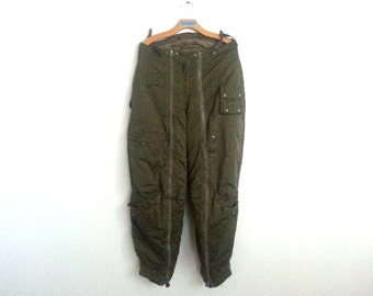 Vintage US Army Air Forces Cold Weather Trousers Type A -11A Military Surplus Pants