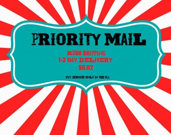Priority Mail 1-3 BUSINESS DAYS