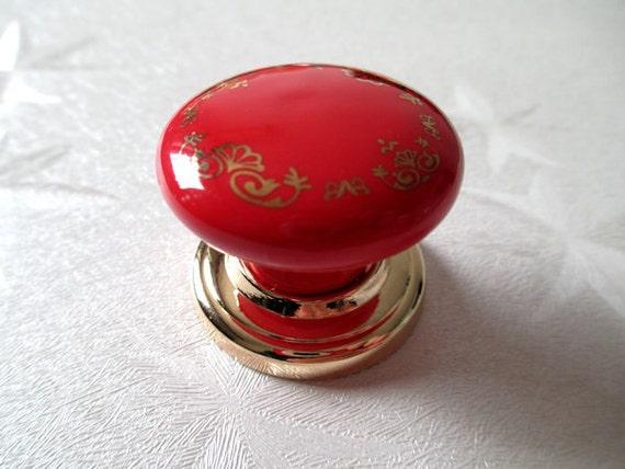 bouton tiroir de la commode boutons tire poign es c ramique. Black Bedroom Furniture Sets. Home Design Ideas