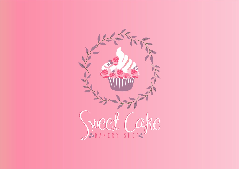 Design Your Own Cake Logo : Bakery logo design//Cupcake logo design// Cake by ...