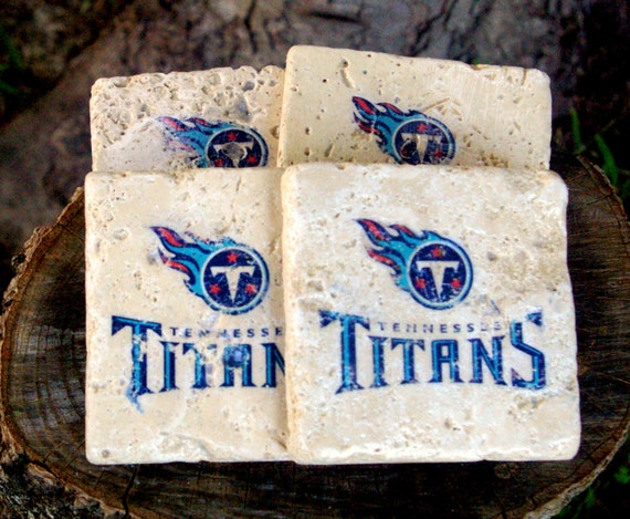 Tennessee Titans Drink Coasters/ Tailgate/ By