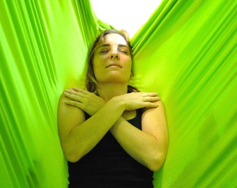 Premiere Aerial Yoga Hammock for aerial yoga, antigravity yoga, TRX, inversion therapy