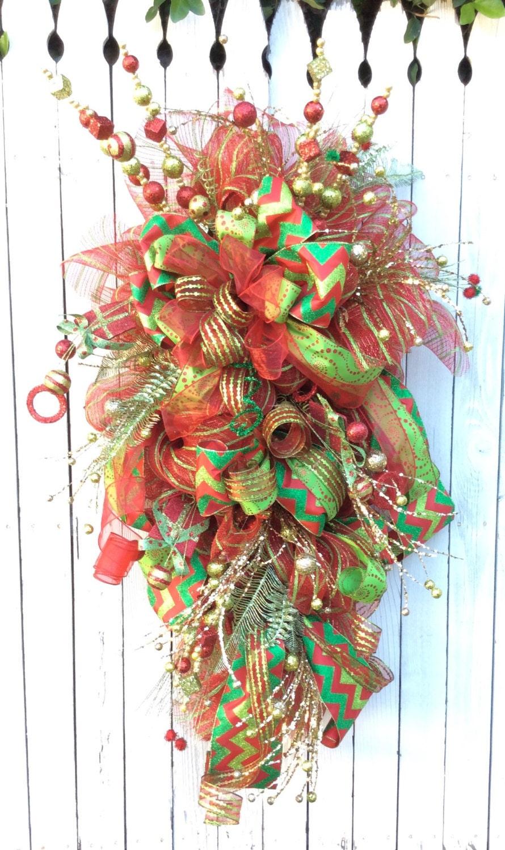 Christmas Wreath Christmas Swag Large Christmas Wreath