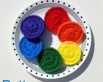 SCRUBBIE pattern, Pot Scrubber pattern, crochet pattern, scour pad pattern, nylon scrubbie pattern, crochet scrubbie pattern, nylon scrubber