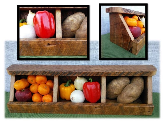 Countertop Vegetable Bin : Fruit Storage Countertop Fruit Storage Potato Onion