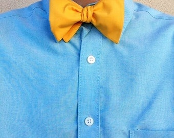 Sunshine Yellow Bow Tie