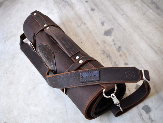 chef knife roll westbrook leather knife roll by westbrookleather. Black Bedroom Furniture Sets. Home Design Ideas