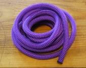 Purple Climbing cord ,Braided Cord,Rope semisoft, 10mm approximately, 92cm/1yard