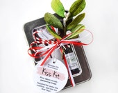 Christmas Kiss Kit - organic lip balm gift set