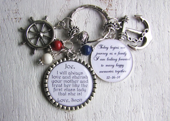 Gift For Stepson On Wedding Day : StepSon Gift Personalized Wedding Party gift to The BRIDES SON from ...
