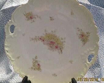REDUCED PRICE - Bavarian Cake Plate - Circa 1900's