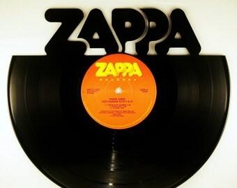 Recycled Vinyl Record Frank Zappa Wall Art