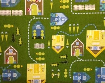 1 yard 100% cotton fabric byAndover Fabrics in Storybook Lane pattern