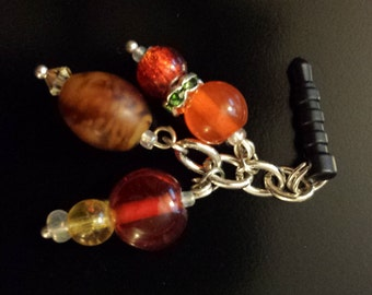 Handmade Earphone Plug Charm - Harvest/Fall