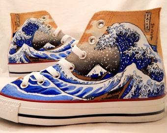 The Great Wave off Kanagawa Shoes
