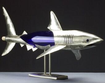 Wine Shark, Shark Sculpture