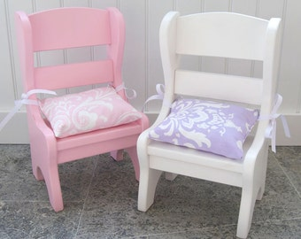 "15-18"" Doll Chair Cushions, Set of 2"