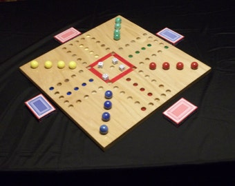 Aggravation Board Game 4 player 18 X 18