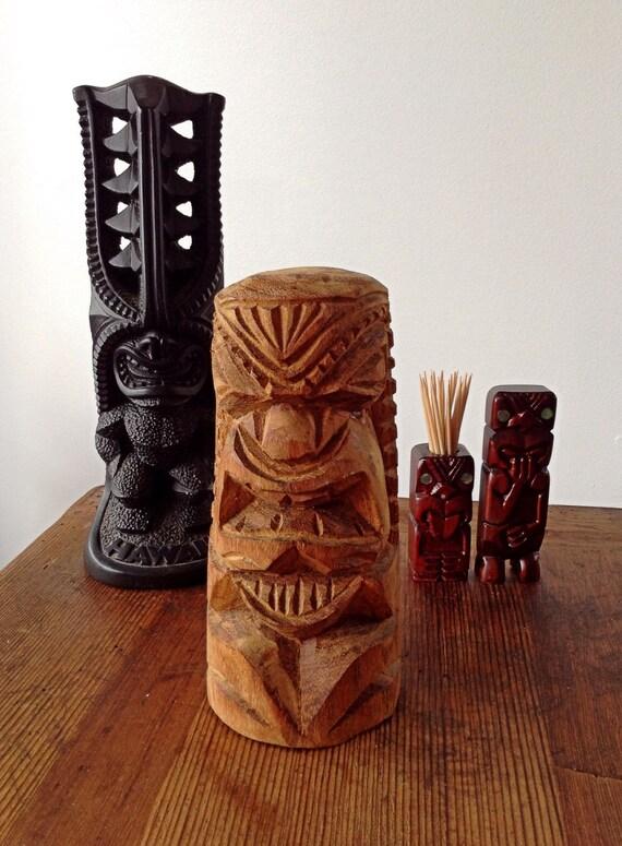hardwood tiki 60 s barware mantiques collectable