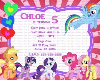 Pony Invitation