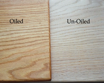 10 inch-Handmade-Solid Red Oak-Cutting Boards