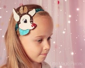 Rudolph the Red Nosed Reindeer Glitter Headband, Christmas